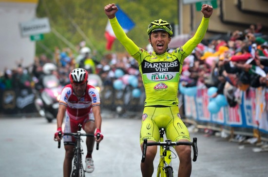 Giro d'Italia 2012 - Arrivo tappa 15